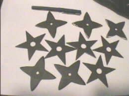 throwing stars